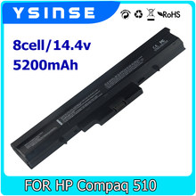 Ysinse ноутбука Батарея для HP 510 530 440264-abc 440265-abc 440266-abc 440268-ABC 440704-001 HSTNN-C29C HSTNN-FB40 HSTNN-IB44(China)