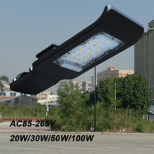 20W LED Shoebox Pole Light, 2000 Lumen Led Parking Lot Lights,(100W HID/HPS Equivalent), 5700K Outdoor Led Street Light(China)