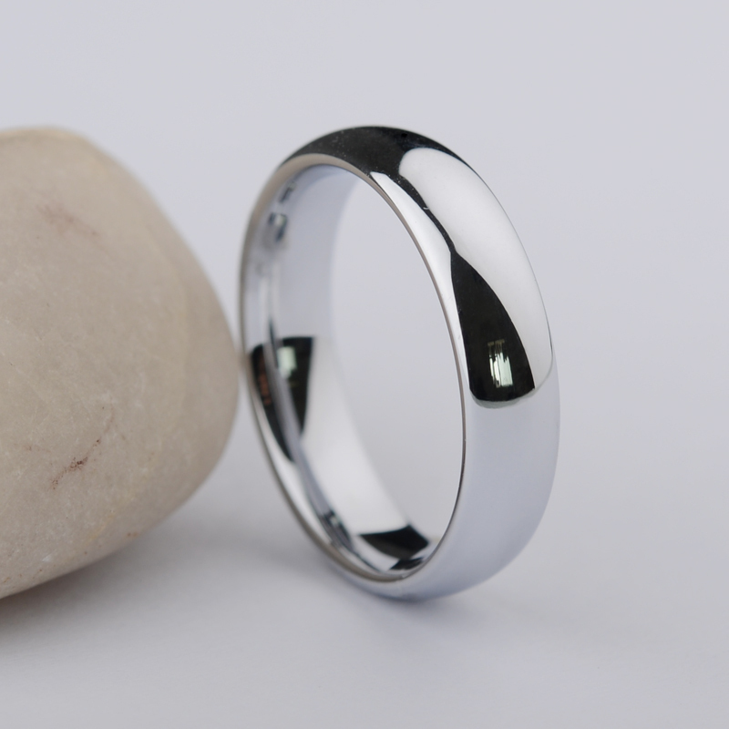Never-Fade-Shiny-Silver-White-Tungsten-Rings-Dome-Band-3-5mm-and-5mm-Width-for-Couples2