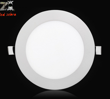 uitra thin round led panel downlights,3w 4w 6w 9w 12w 15w 18w 24w led ceiling recessed light,led panel lights for home AC85-265V