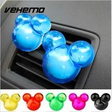 Vehemo 4 PCS Plastic Air Freshener Perfume Pleasant  Scent Fragrence Odor Diffuser  For Auto Car Vehicle SUV New 4.5 x 2 x 5.5cm