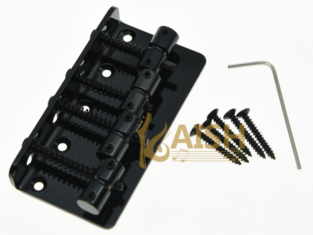 Black 4 String Vintage Electric Bass Bridge<br><br>Aliexpress
