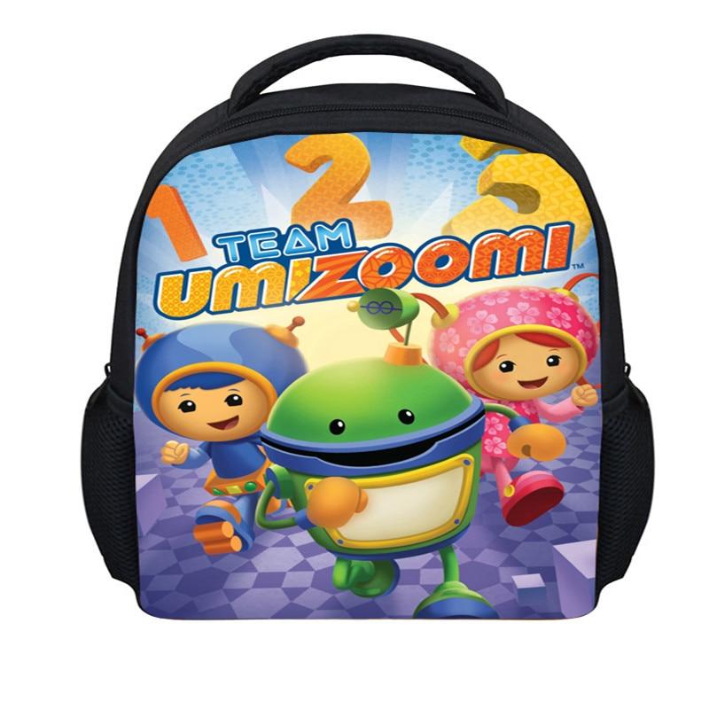 FORUDESIGNS Mini 3D Cartoon Team Umizoomi Bag Children School Bags For Boys Girls Adventure Time Schoolbag Kids Bookbag Mochilas<br><br>Aliexpress