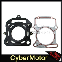 Cylinder Head Gaskets Set For Chinese Lifan CG200 200cc Water Cooled Engine Pit Dirt Bike ATV Quad Motorcycle(China)