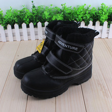 Fashion Kids Boots Boys Boots New Winter Snow Boots Children Warm Cold-Resistant Cotton Boys Boots Kids Shoes(China)