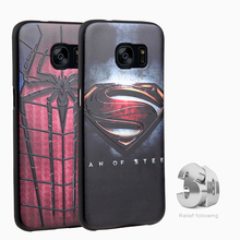 Marvel Avengers batman case Samsung Galaxy C5 C7 A9 2016 J3 J5 J7 Note7 Soft Silicon 3D Stereo Relief Cases cover coque - Shop2655134 Store store