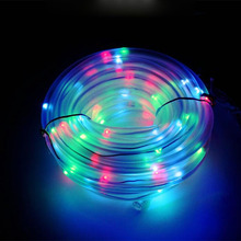Buy solar rope light outdoor and get free shipping on aliexpress alien led solar fairy string lights 12m 100leds guirlande solaire rope outdoor garden aloadofball Images