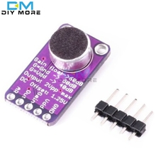 MAX9814 Microphone AGC Amplifier Board Module Auto Gain Control for Arduino Programmable Attack and Release Ratio Low THD(China)