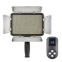 Ultra 5600K Studio LED Light Dimmable Illumination Video Photo Panel Lamp with Wireless Controller for Canon Nikon DSLR Camera