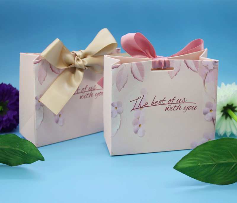 New Green Pink Gift Bags Wedding Favors and Gifts Box Party Paper Candy Box For Wedding Decoration Baby Shower Supplies (8)