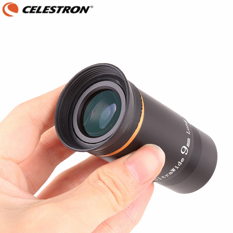 CELESTRON 1.25 66 Degrees Ultra Wide Angle 9mm Eyepiece Planetary Multi-Coated Astronomical Monocular Telescope Accessories<br>