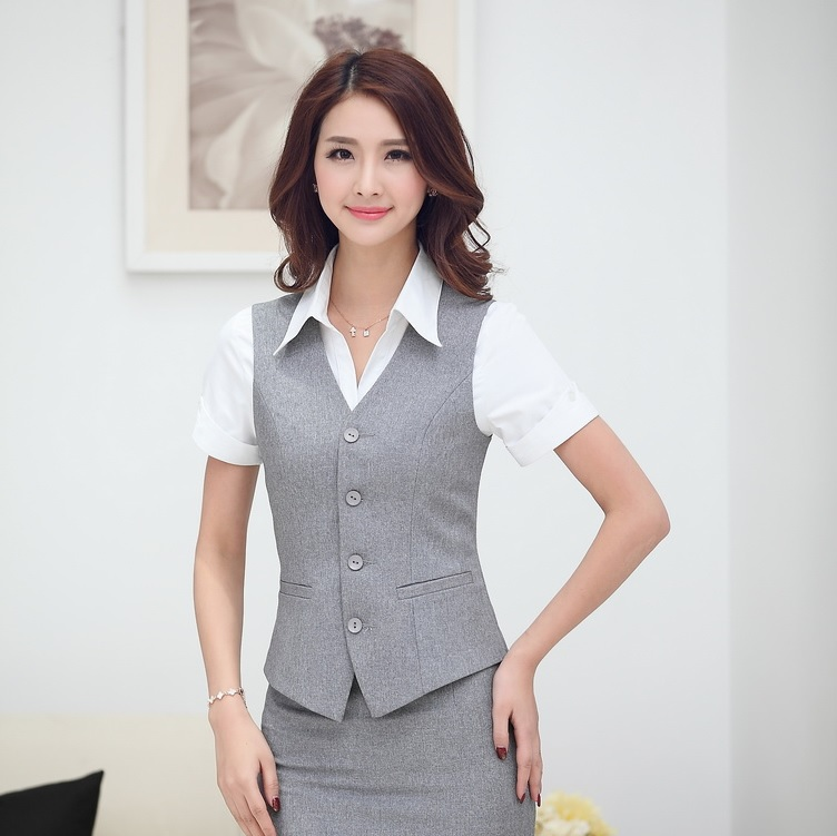 Popular Business Coat Vest Women Blazer-Buy Cheap Business Coat ...