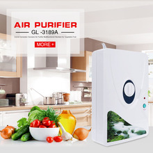 2016 New Arrival Air Purifier Portable Ozone Generator Multifunctional Sterilizer Air Purifier for Home Vegetable Fruit Purify(China)