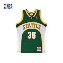 Original NBA Jerseys M&N SWINGMAN Retro Jerseys Number 35 Seattle Supersonics Kevin Durant Men's Breathable Basketball Jerseys(China)