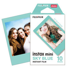Original Fujifilm Instax Mini Fuji Film Blue Frame For Mini 8 7s 7 50s 50i 90 25 dw Share SP-1 Polaroid Instant Photo Camera