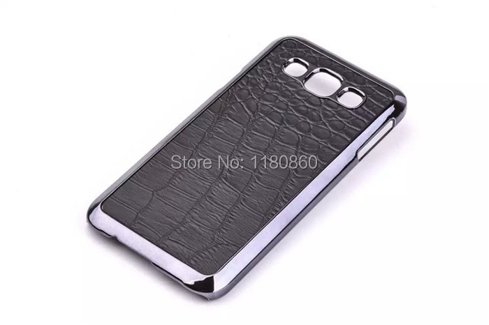 Luxury Black Crocodile Pattern font b Case b font Cover for font b Samsung b font