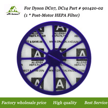 For Dyson DC07, DC14 Purple Post-Motor HEPA Filter; Replaces for Dyson DC-07, DC-14 Vacuum Part # 901420-02, 90142002 Accessory