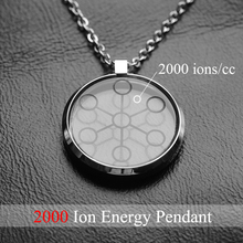 2000CC High Ion Bio Chi Quantum Pendant Scalar Energy With Stainless Steel Necklace Chain Via AliExpress Standard Shipping 30027(China)