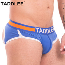 Buy Taddlee Sexy Mens Jock Straps Underwear Briefs Bikini Cotton Men Jockstraps Gay Penis Pouch Thong G Strings Backless Buttocks