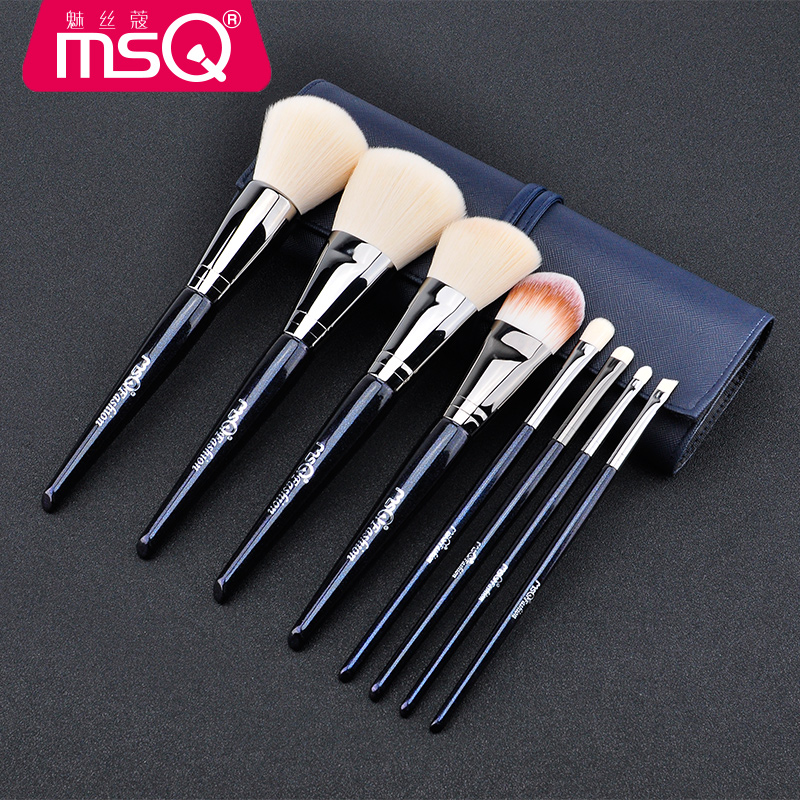 Beginners Makeup Brushes Set Synthetic Fiber Face Powder Blush Foundation Eye Shadow Blending Brush Cosmetic Kits Make Up Brush<br>