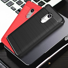 For Xiaomi Redmi Note 4 Case For Xiaomi Redmi Note 4X Case Silicone Carbon Fiber Phone Cases For Xiaomi Redmi Note 4 Pro Note 4X