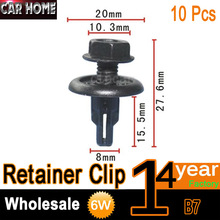 10pcs OEM Fastener Push-Type Splash Shield Retainer Clip For Honda Accord/CR-V/Civic / Integra 91516-SK7-013(China)