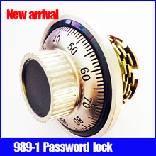 New arrival 989-1 password locks for doors Bright chrome safe locks easy open locksmith tools professional locksmith supplies