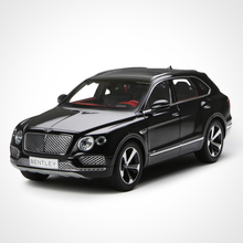 Kyosho 1:18 Bentley Bentayga SUV alloy car model diecast collection Toy boy gift Off-road Super luxury car orange black big size