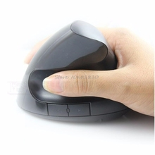 Mouse Ergonomic Design Optical Mouse 1600 DPI Wireless USB Vertical for Computer PC #R179T#Drop Shipping(China)