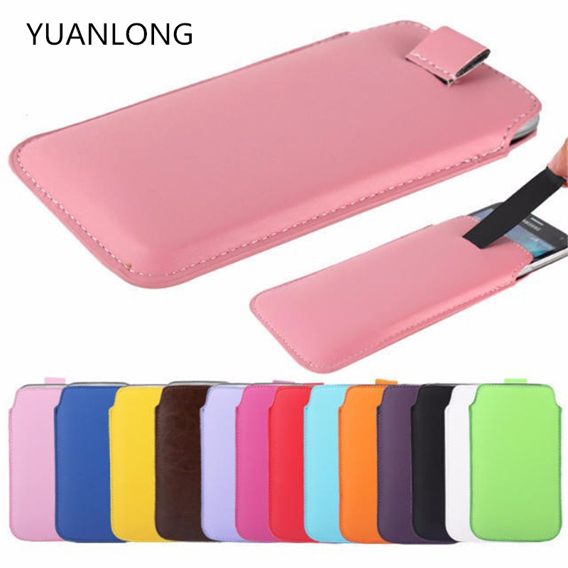 "YUANLONG 5.5"" Elephone P9000, High Original Pull Tab PU Leather Case Pouch Sleeve Case Cover Elephone P9000"