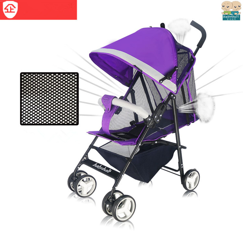 Bebybalt baby stroller can sit and lie breathable portable four wheel pram<br><br>Aliexpress