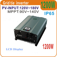 SOYOSOURCE 1200W Grid Tie Inverter PV-Voc input 120-180v Solar Inverter AC230V 50HZ or 60Hz Home Solar Systems high frequency(China)