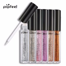 Buy popfeel 6Pcs/Set Sexy Color Glitter Liquid Eyeliner Professional Women Makeup Cosmetic for $7.17 in AliExpress store