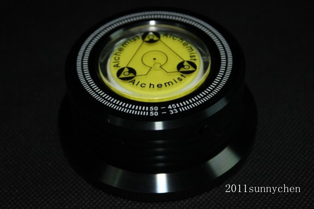 50HZ 3 In 1 Record Clamp LP Disc Stabilizer Turntable black color<br><br>Aliexpress