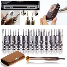 Mini Precision Screwdriver Set 25 in 1 Electronic Torx Screwdriver Opening Repair Tools Kit for iPhone Camera Watch Tablet PC(China)