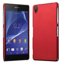 Smooth Rubberized Matte Hard Cover Case For Sony Xperia Z Z1 Z2 Z3 Z5 Compact M2 M4 M5 E5 XP XA X Performance C5 C4 E3 Cases