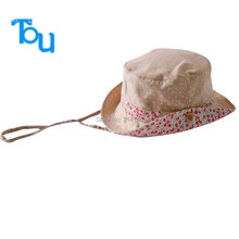 Tou Baby girls lovely flower sunHats  Infant Summer Sunhat  Kid Children cotton Visor Cotton Anti-UV Sun Hat free shipping