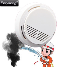 New Free Shipping Smoke Sensor It Will Alarm When Detect Smoke White 433MHz Cheap Beautiful Popular In Market(China)