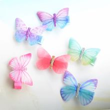 Buy 3Pcs Kid's Hairpin Hair Clip Butterfly Baby Girl Hair Clip Hairpin Toddler Kids Children Hair Accessories Headwear Hair Hoop for $2.07 in AliExpress store