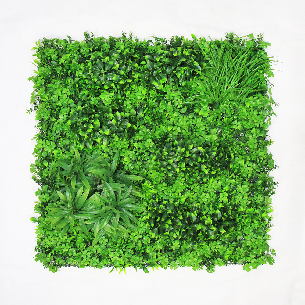 Artificial Boxwood Panels Hedge Wall Privacy Screen Topiary Plant 1x1m Greeny Walls DIY Mats Fencing Backyard Garden Decoration3