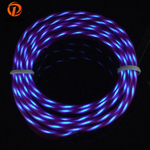 POSSBAY Flexible Neon LED Light Chasing EL Wire String Strip Rope Car Christmas Party Red/Blue/Orange/Yellow/Green/Purple(China)