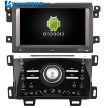 Android 4.4.4 For Ford Edge 2011 2012 2013 2014 2015 Auto Car Radio Stereo DVD GPS Navigation Sat Navi Multimedia Media System(China)