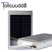 Buy Tollcuudda 2017style 10000mah Solar power bank Dual usb LED bateria externa solar charger powerbank Iphone 6 6s mobile Phone for $20.93 in AliExpress store