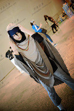 Naruto the last Uchiha Sasuke Cosplay costume Anime custom any size
