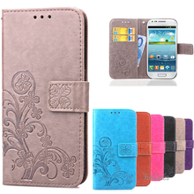 S3 Mini i8190 Flip Case S3 i9300 Wallet Leather Cover For Coque Samsung Galaxy S3 Mini / S 3 Neo/Duos Luxury Silicon Phone Cases(China)