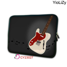 print guitar 7 10.1 11.6 13.3 14 15.4 15.6 17.3 inch Notebook protective case Laptop liner Sleeve mini tablet Bag cover NS-23027(China)