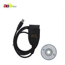 New USB VAG TACHO 3.01 + Opel Immo Reader Interface OBD2 Diagnostic Tool EEPROM IMMO PIN Odometer Mileage Correction For Audi Vw(China)