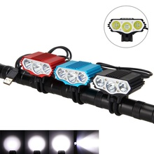 15000lm 3x XM-L T6 USB Front Powerful Bike Lamp Cycle Bicycle LED Light Flashlight Lantern Waterproof Accessories For Bicycle