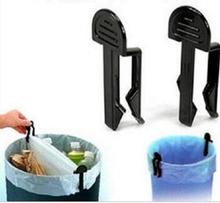 2pcs Garbage can clip/Trash folder,Refuse bag fixing device 8x3cm(China)