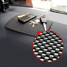 Magic Cell Phones Anti Slip Dash Mat Mobile Phone Pad Holder for Car Black Color 22*19cm Big Size